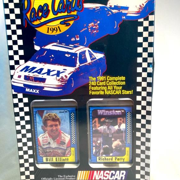 NASCAR 1991 Maxx Race Cards complete sealed 240
